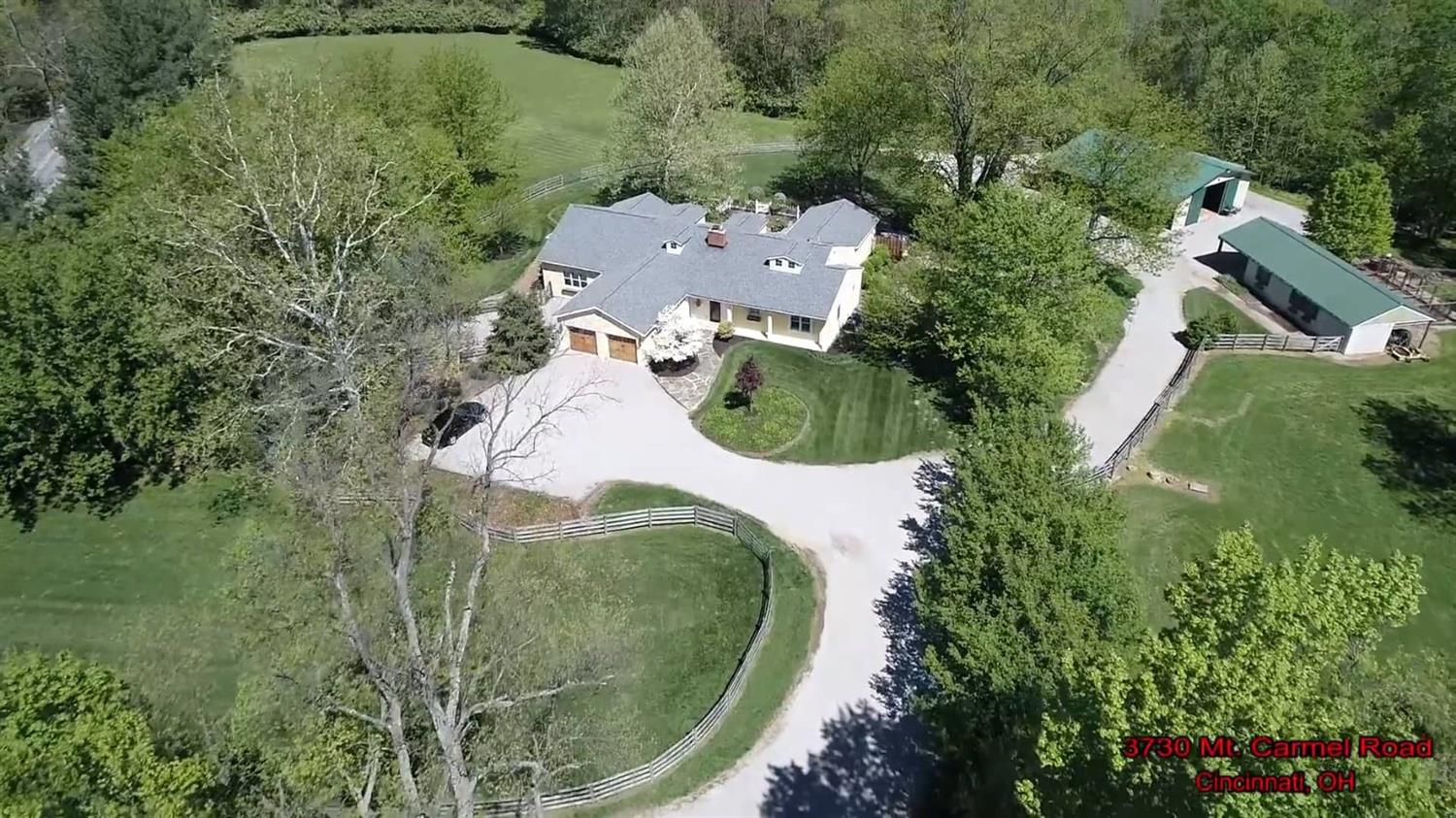 Gentlemen's farm* Tons of charm! 20 acres, 10 acres are fenced + 4 stalls + tackrm + space for 3 more w/electric/water*3 add'l stalls in original barn*New upper bonus BR/bath*Cathedral MBR*Updated bath*Newer custom kit*Amazing great room w/soaring ceilings*Distant valley views!