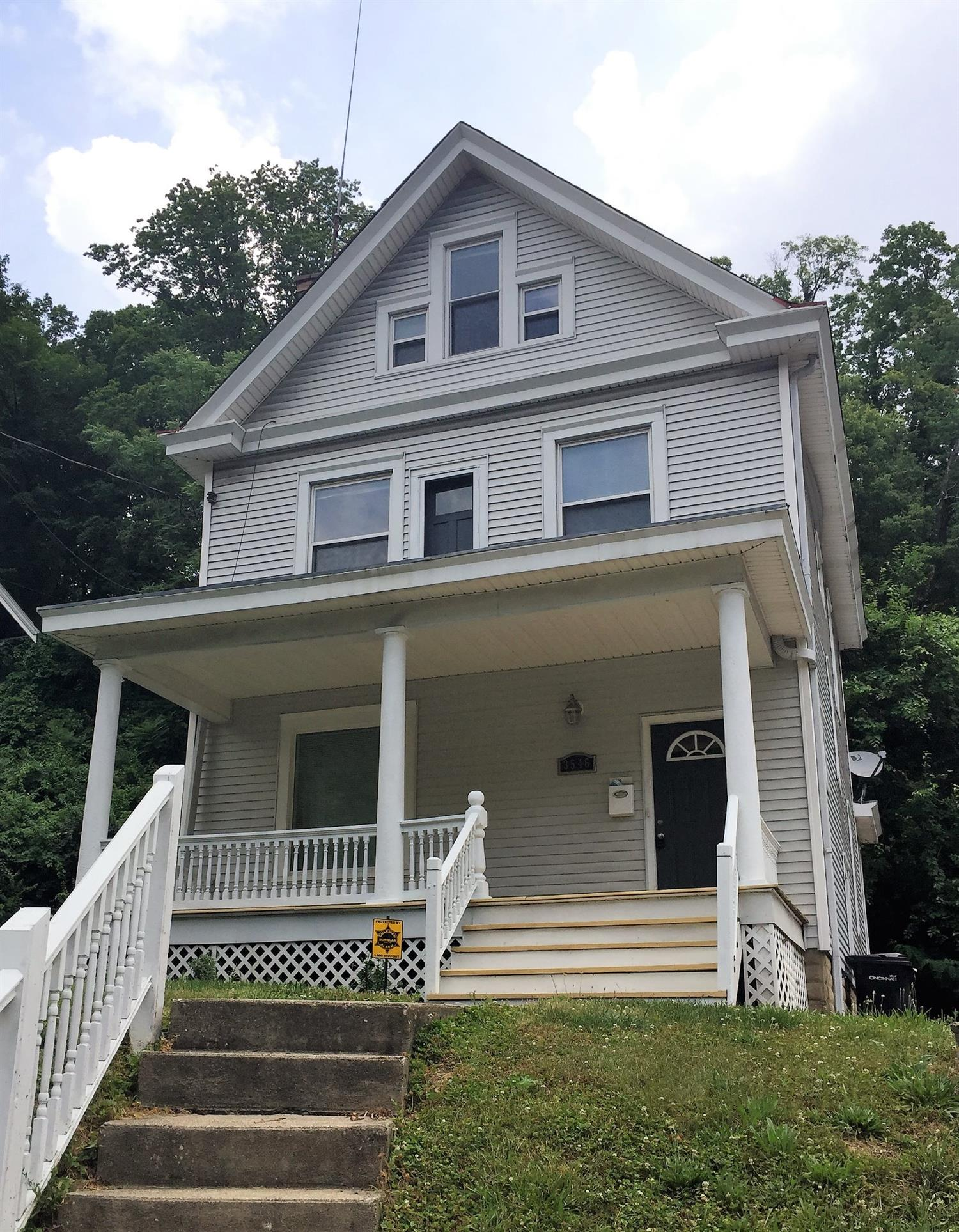 Updated Mt. Lookout home - move in ready! You'll find plenty of space in this beautiful 4 bedroom, 2.5 bath home, minutes from Mt. Lookout Square! Walk-in master closet, open kitchen/dining area, hardwood floors and laundry has been moved to the 1st floor. Must see!