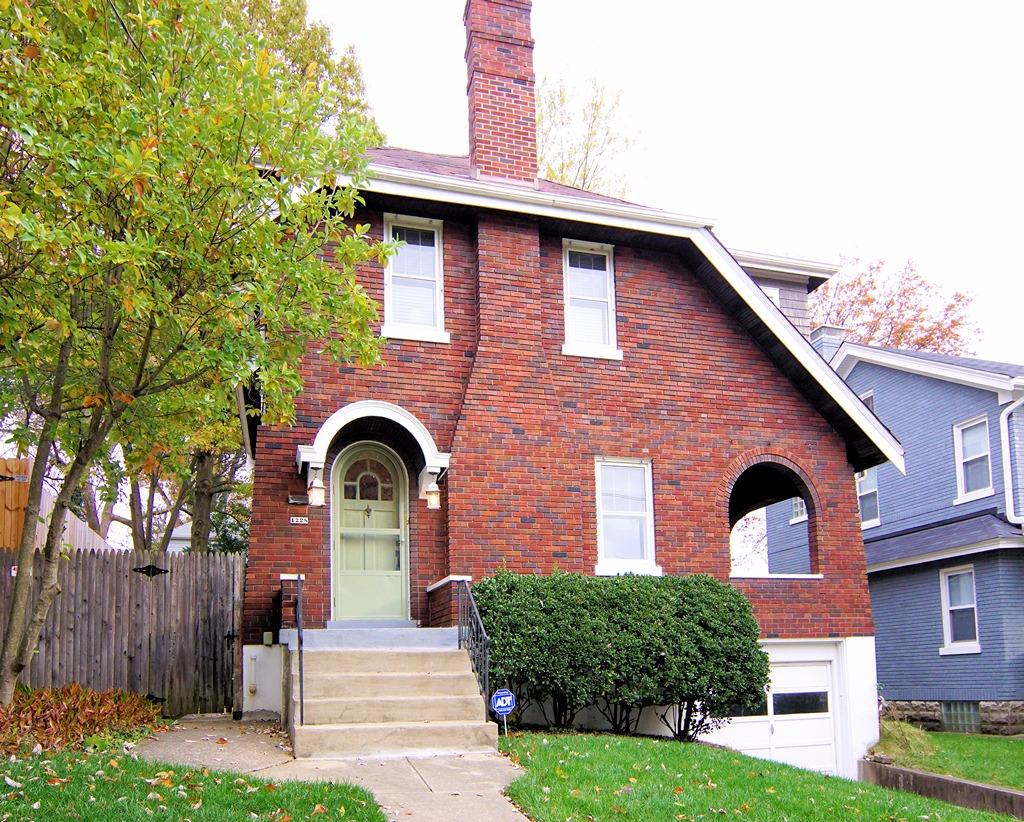 Beautifully updated brick 3 bdrm featuring lovely hardwood flrs, arched doorways and charming french doors leading to a covered side porch + generous closets, rear deck, wonderful fenced yard and att garage. All this surrounded by towering trees and nestled within walking distance of Ault Park, Hyde Park & Mt Lookout squares!