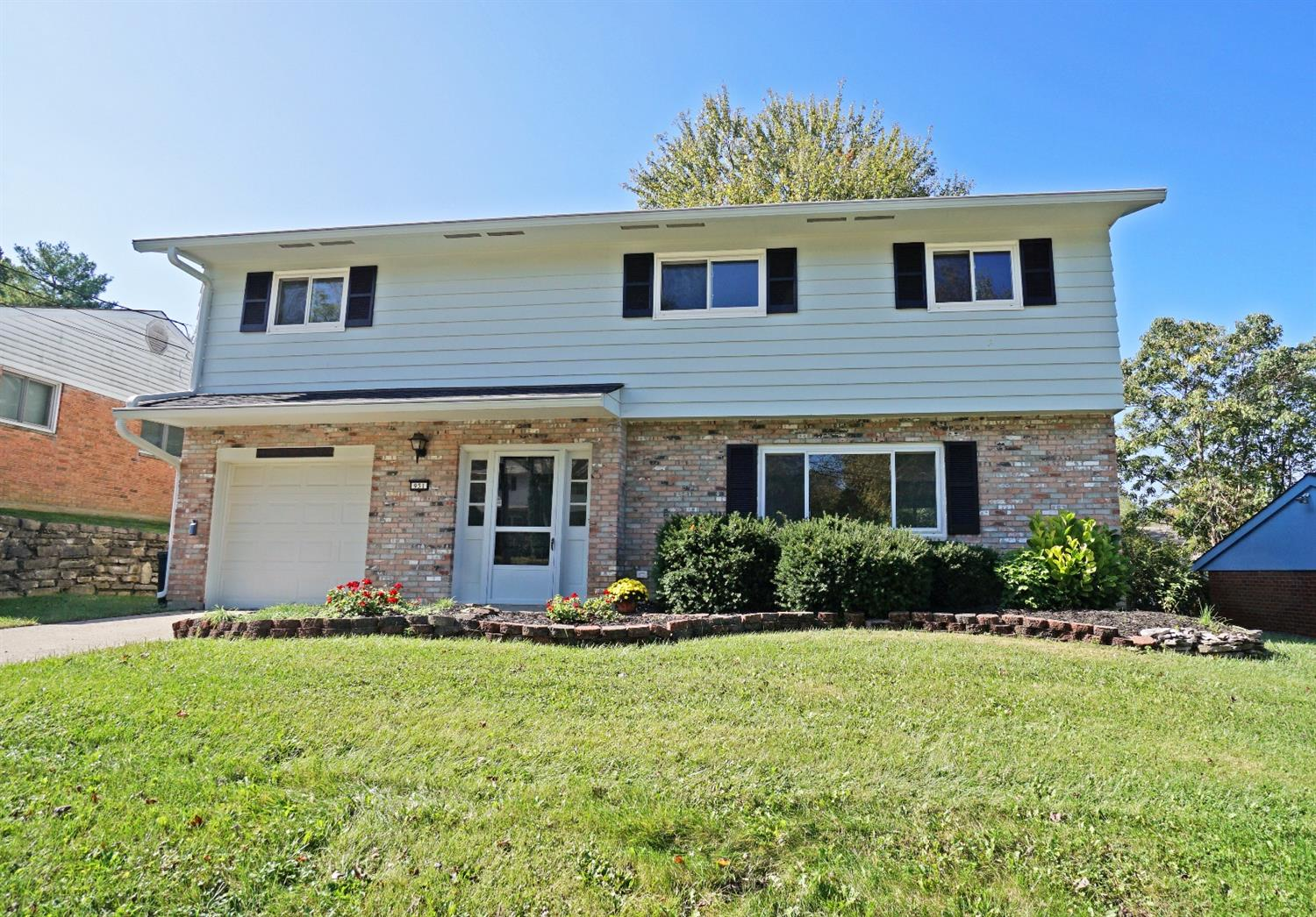 Move in ready with great updates. Freshly painted in & out! Dining room walks out to patio, completely updated kitchen, master bedroom with bath & dressing area, spacious rooms w/tons of storage & closet space, bnew roof & so much more.