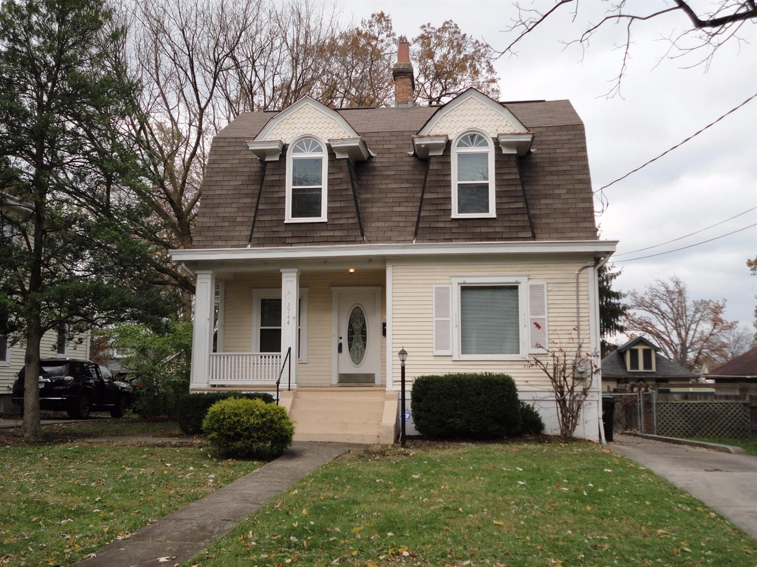 Charming home just a short walk to Rookwood shopping and restaurants! No outlet street. 5-min access to I-71. Rare 2-car garage! Remodeled Bathroom and Kitchen! Furn/AC 2014, replacement windows, wood floors, lots of natural light and covered front porch! What a location!