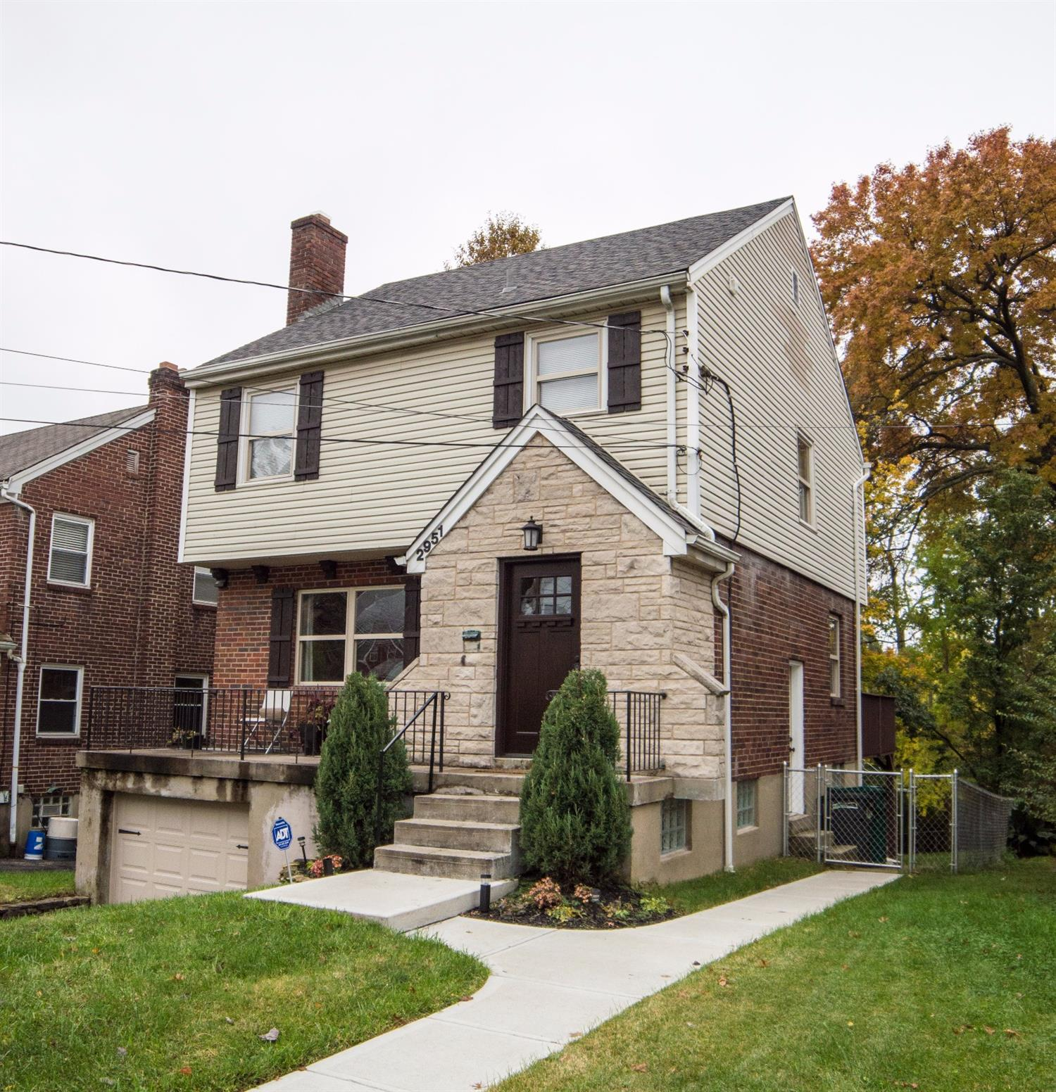Charming two story, completely updated with all permits being pulled. Granite counter tops, gorgeous 42 cabinets, remodeled bathroom. Newer roof and all mechanics. Large fenced rear yard. Come have a look