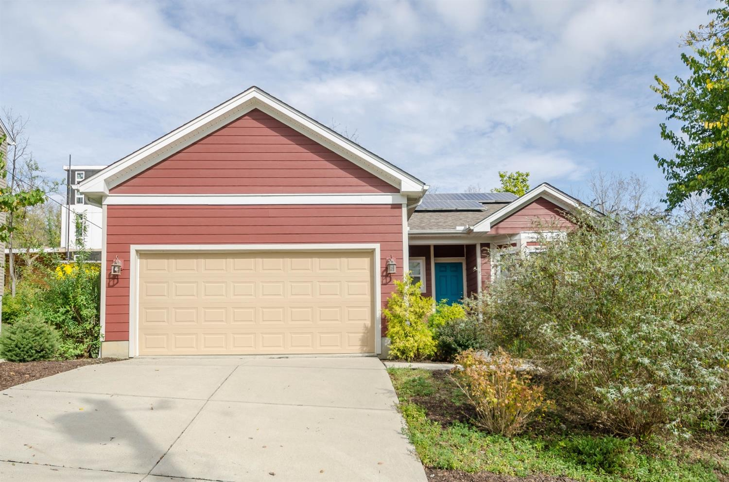 Wonderful ranch home that's LEED Gold certified*Solar panels*Geothermal system*Hardie Fiber cement siding*Energy Star appliances*Tax abatement till 2026*Very low maintenance property*Unfinished walkout basement*This home is a must see!*