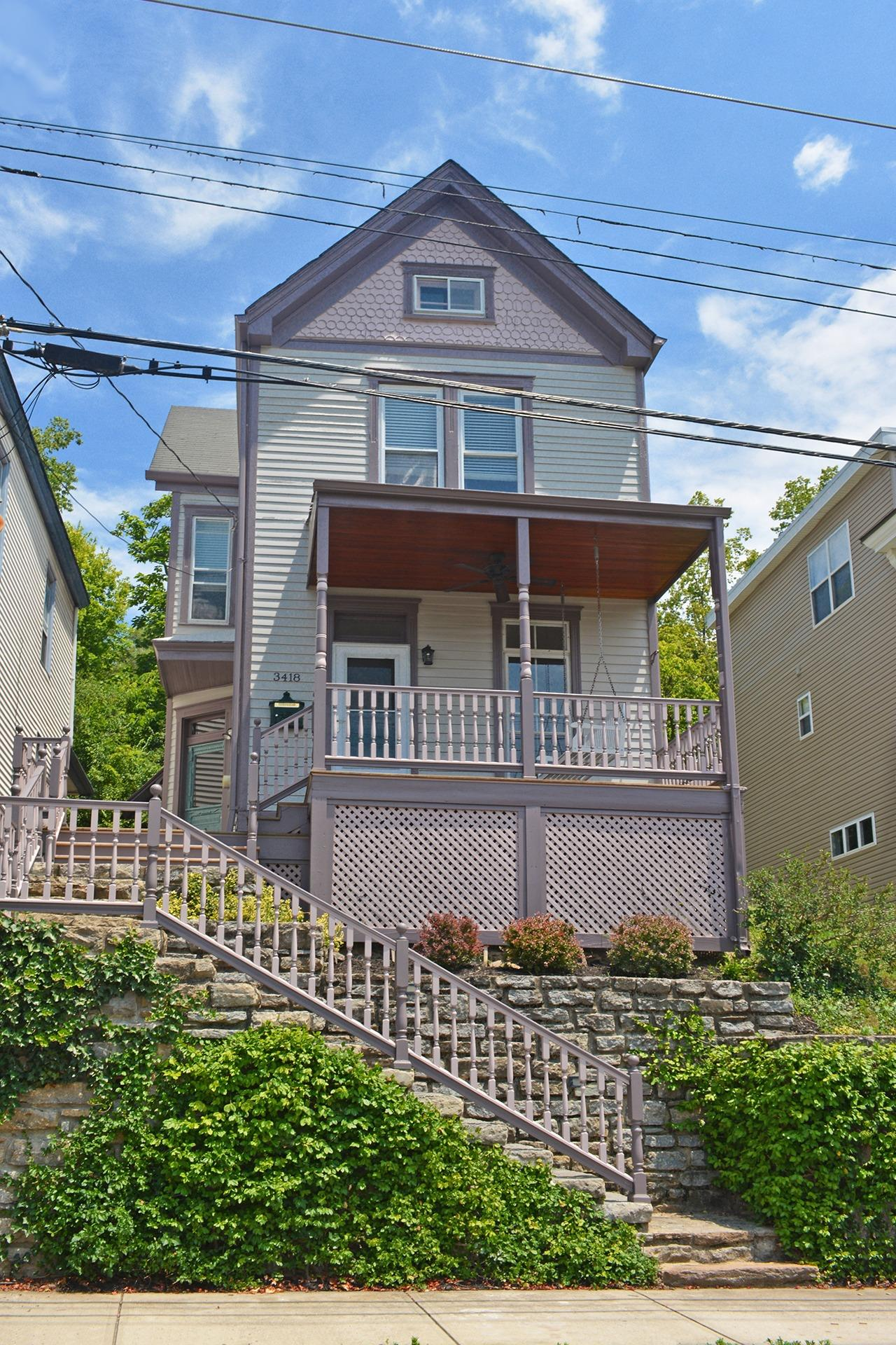 This 1883 Victorian is loaded with charm and updated for modern convenience.  Beautiful floors and moldings, high ceilings, decorative fireplaces.  Newer kitchen and baths, furnace and AC, hot water. Convenient to downtown, walk to restaurants and shops in heart of CT.