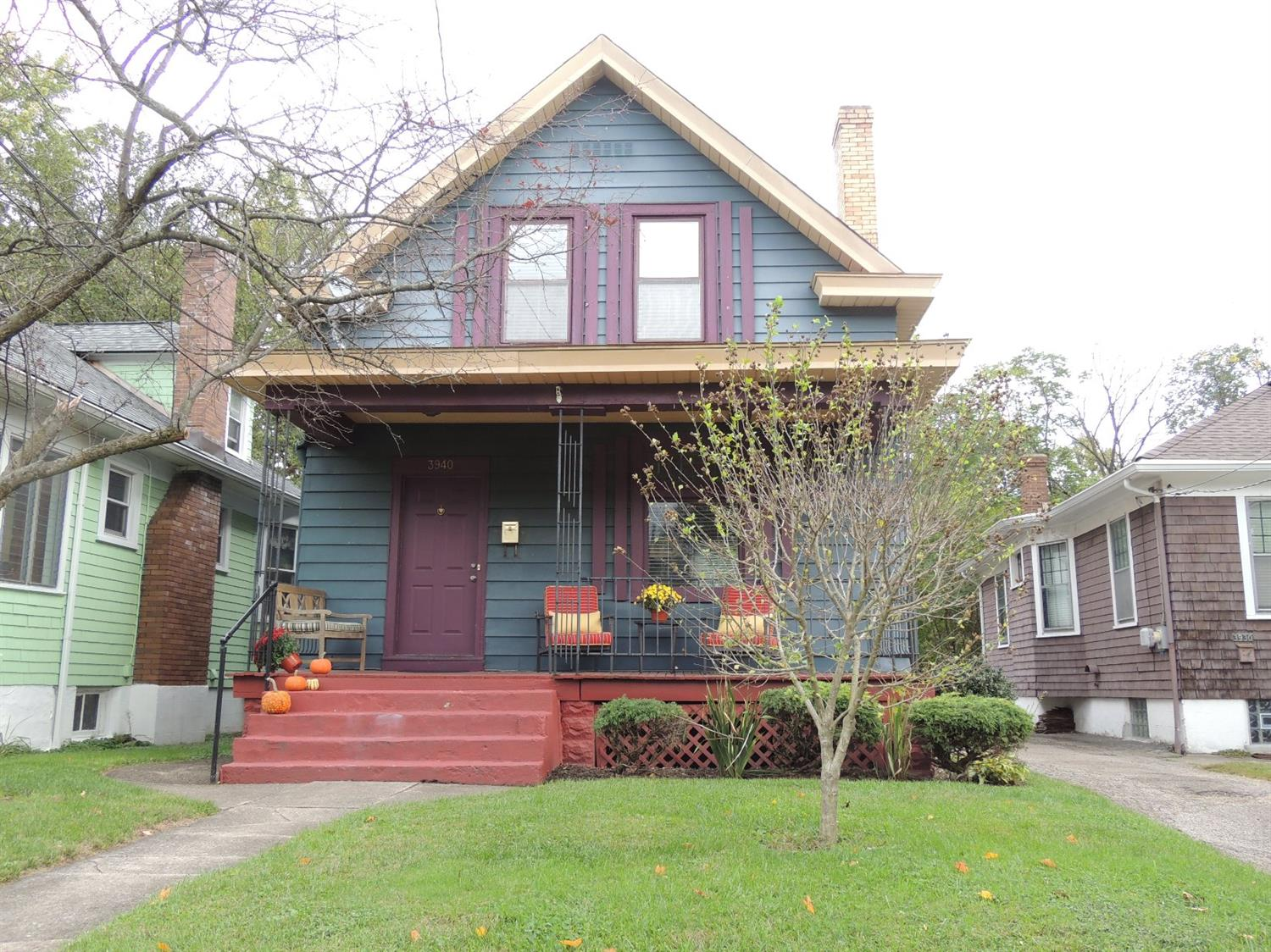 Character and updates abound this charming 2 story home in the heart of Oakley.  Refinished wood floors, updated kitchen and bath.  Large bedrooms with plenty of closet space.  A/C '17, high-e furnace '15, some windows '16.  3 original stained glass windows.  Fenced yard and detached garage.  Walk to Rookwood and Oakley Square. Easy 71 access.