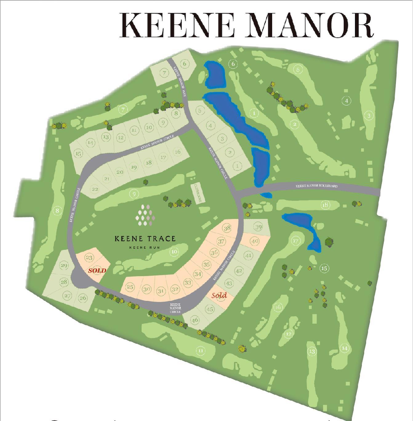 Keene+Manor  Subdivision