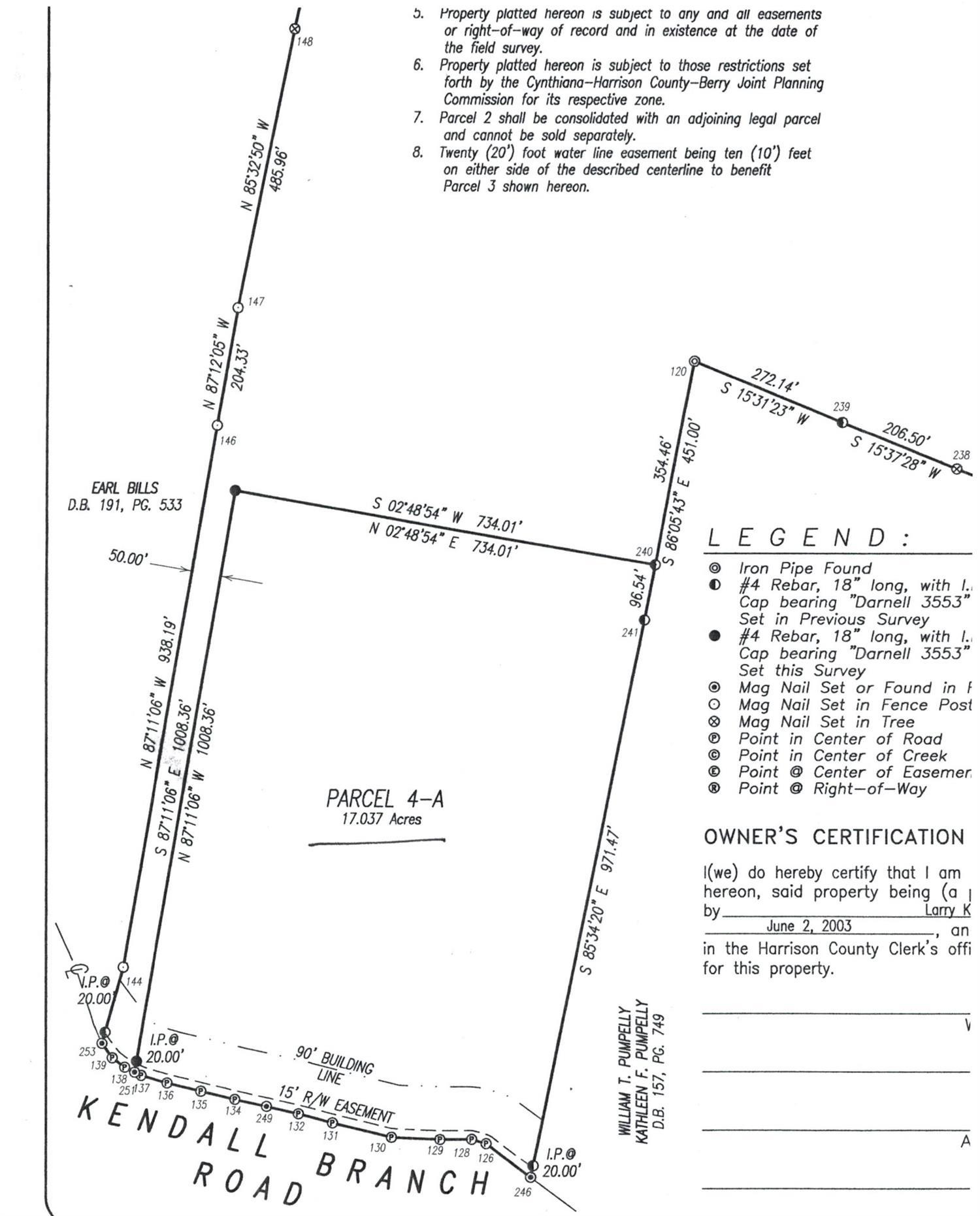 4-Lot A Kendall Branch, Cynthiana, KY 41031