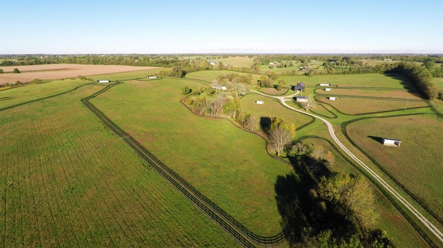 Gorgeous%2074%20acre%20turn-key%20horse%20farm%20with%20gently%20rolling%20pastures%20&%20great%20soils.%20%20Stunning%20building%20site%20overlooks%20farm%20with%20breathtaking%20views%20of%20the%20countryside%20from%20one%20of%20the%20highest%20spots%20in%20the%20county.%20This%20well-designed%20farm%20developed%20in%202008%20has%20a%20manager's%20residence%20and%20a%20modern%20high-quality%20four-stall%20steel%20horse%20barn%20w/insulated%20roof%20and%20wash%20stall%20and%20heated%20tack%20room,%20both%20with%20hot%20and%20cold%20water.%20A%20large%20tobacco%20barn%20has%20room%20for%20an%20additional%2014%20stalls.%204%20large%20fields%20and%205%20large%20paddocks%20have%20matching%20steel%20run-in%20sheds%20and%20there%20are%20also%20three%20smaller%20paddocks.%20All%20fields%20and%20paddocks%20have%20heated,%20insulated%20Varnan%20automatic%20waterers.%20Four-board%20oak%20fence%20throughout%20with%20diamond%20mesh%20fence%20on%20most%20of%20the%20perimeter.%20Entire%20farm%20on%20top-quality%20Maury-McAfee%20soils,%20small%20creek%20meanders%20through%20the%20property%20and%20a%20spring-fed%20artesian%20well.%20Well-located%20farm%20is%20near%20Runnymede%20Farm,%20Denali%20Stud,%20Silver%20Springs%20Farm,%205%20miles%20from%20%20Paris,%2019%20miles%20to%20the%20KY%20Horse%20Park.