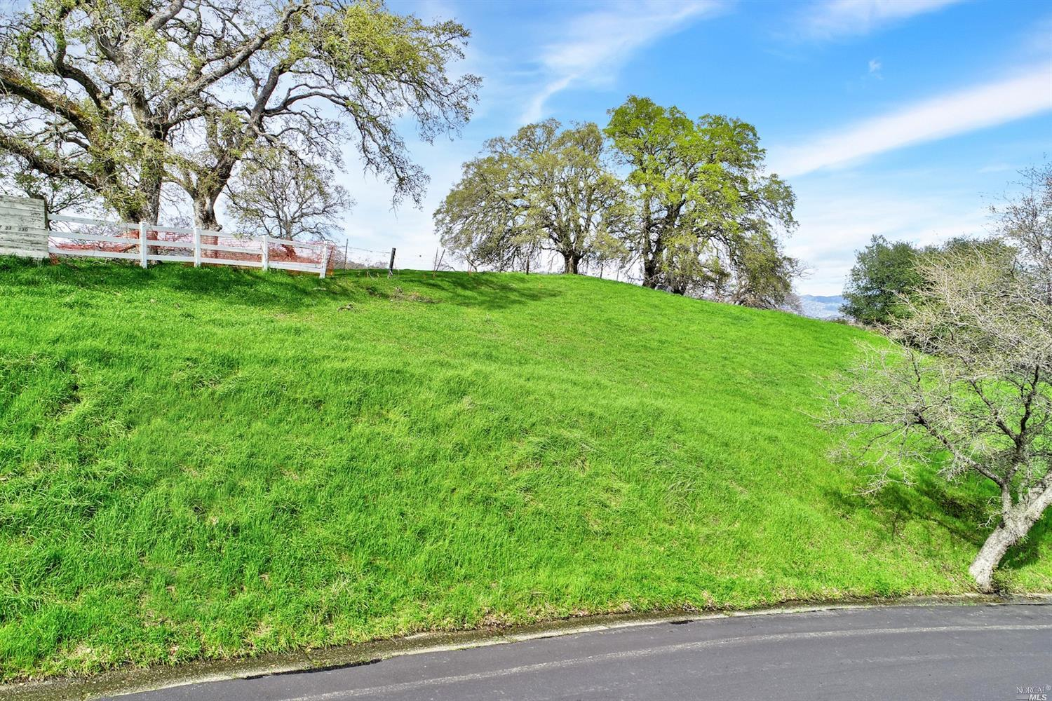 This is an amazing opportunity to own the last build-able lot in the prestigious Wykoff Estates. This incredible 25,265 sq. ft. lot is grandfathered in for water/sewer hookups for you to build your custom dream home. Enjoy the panoramic breathtaking views of tranquil rolling hills and valleys. All this is offered and the convenience of living just a couple miles from Downtown Vacaville. This is truly a trophy property, a once in a lifetime find.