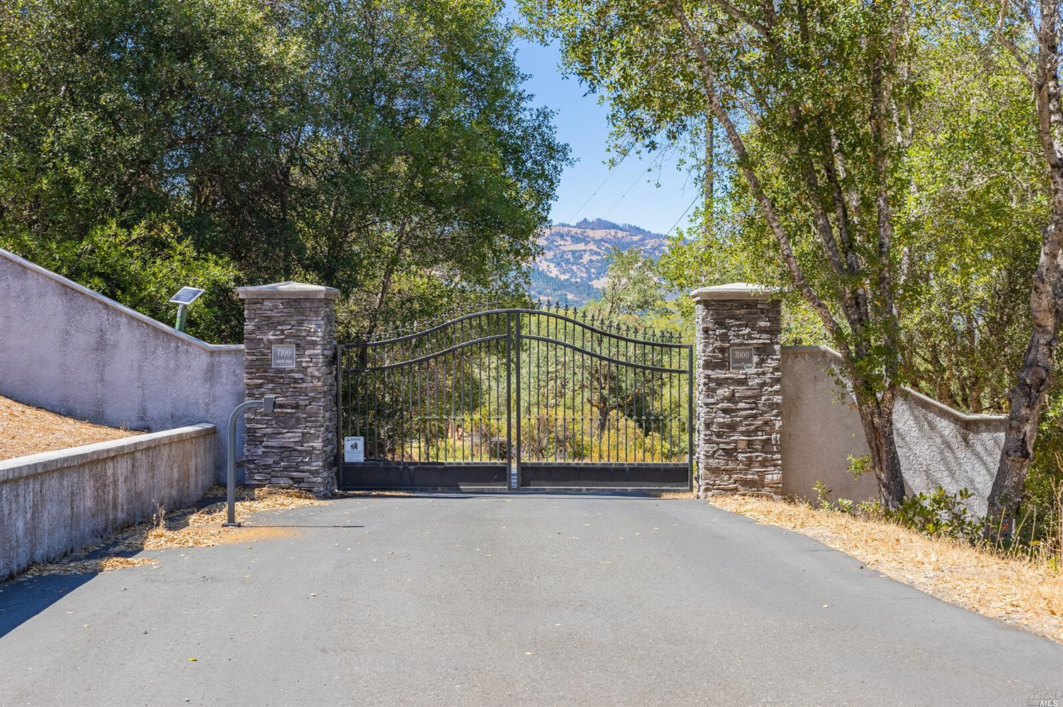 Take advantage of this rare opportunity to own 5 beautiful acres situated up a private, paved road in an area of million dollar homes just 10 minutes North of Ukiah and only 2 hours from San Francisco.  Features include Build-to-suit option(restrictions apply), views of hills and valley, dual fire protection zone, secondary emergency road access, septic installed, power and phone on property, potential for natural gas and excellent south-facing sun exposure, ideal for solar living.  Begin your journey to peaceful wine country lifestyle today!