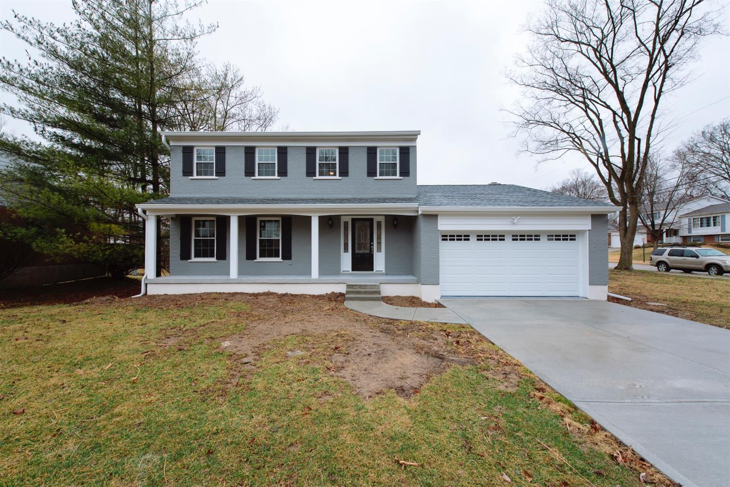 COMPLETELY Renovated!! NEW Roof, Gutters, A/C, Furnace, Windows, Back Deck, 150 amp, Cabinets, Granite Countertops, and more!! Sherwood Forest Subdivision, Forest Hills Schools, 3 bed, 3 bath, beautiful home! This is a show piece and a must see!
