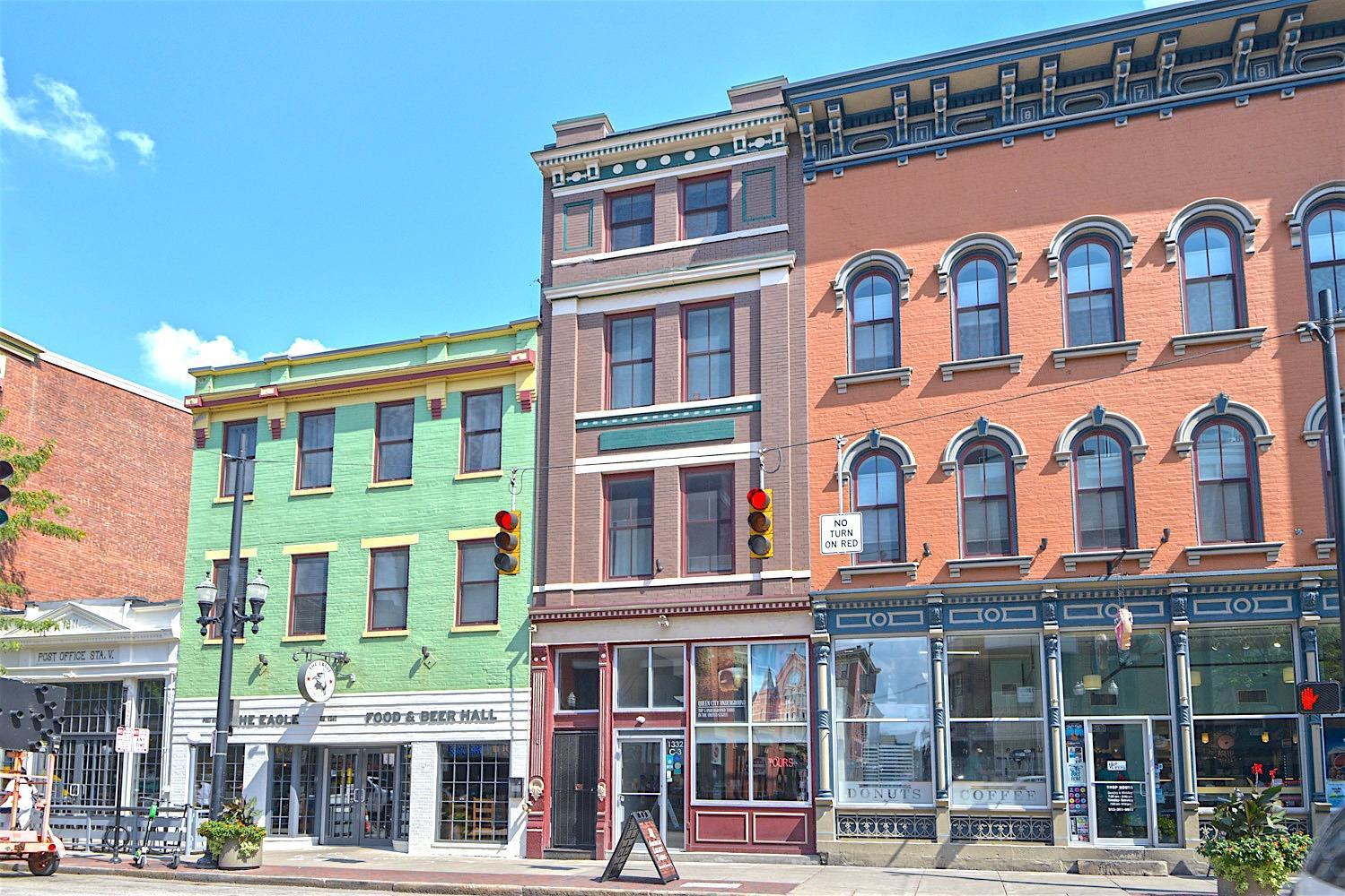 Property for sale at 1338 Vine Street Unit: F, Cincinnati,  OH 45202