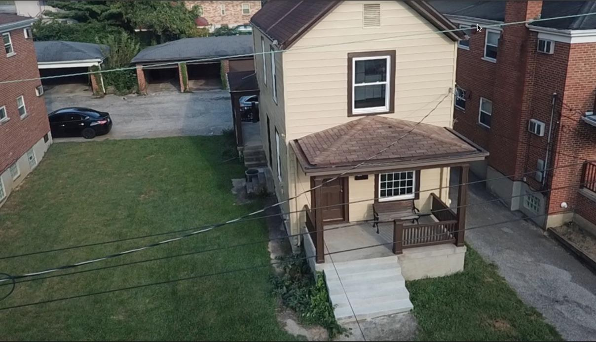 Fantastic opportunity to live in a newly remodeled place. Both units with 1 bed, 1 bath, and walk in closet each. New appliances, hard wood floors refinished, and new bath downstairs . 4 car garage can be rented for extra income.