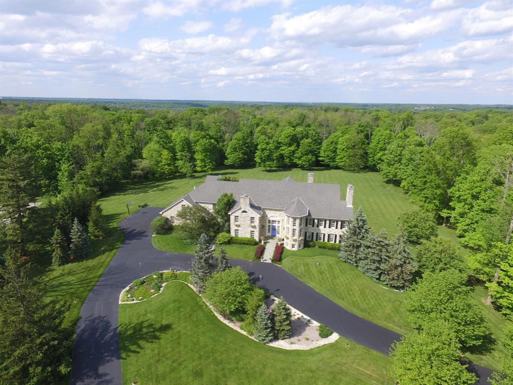 Stone Manor- 5.8 acre + green area- custom built- every amenity- central village, cook's kitchen- Master suite + all beds w/bath- guest suite- paneled library, fabulous mill work, pool, pool house- finished LL. Could not duplicate @ this number. 12,000 sq ft per HCA.