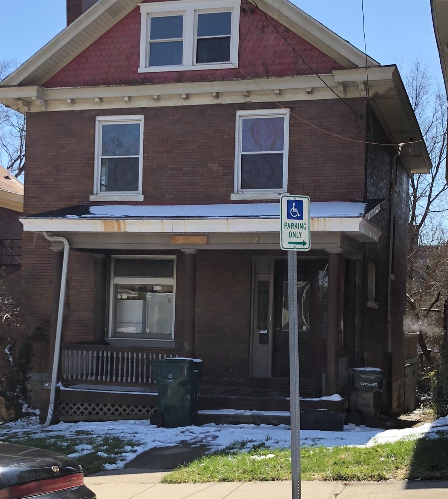 Partially Renovated Home located minutes away from UC, hospitals and downtown**In Need of Some TLC****Motivated Sellers****