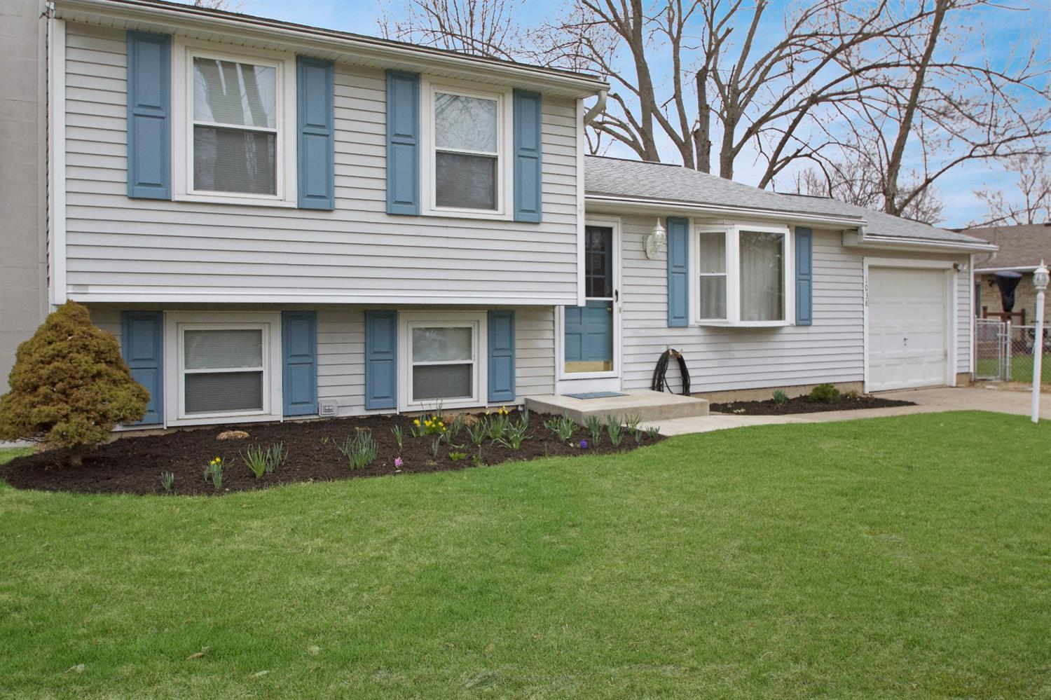 Very clean & larger than it appears. 4 levels with up to date fixtures & new stainless steel appliances. Freshly painted throughout, hardwood floors & almost new carpets.Finished Lower level, lots of storage space, fenced yard, tool shed,new covered deck. Great family neighborhood. Ready to move into!