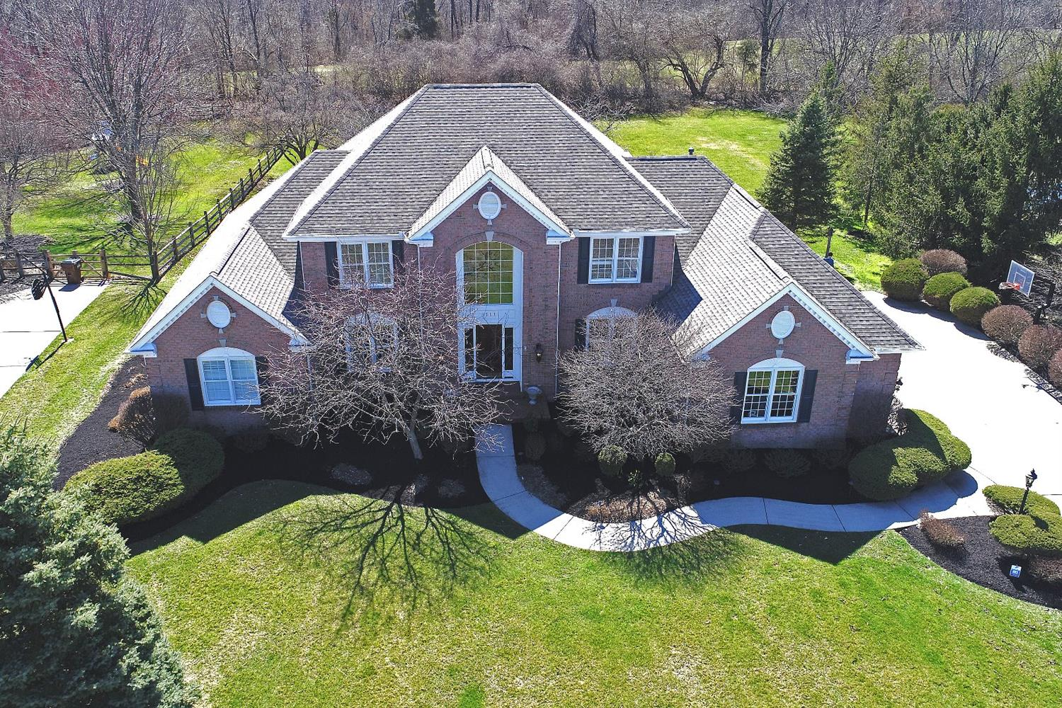 Pristine/spacious/bright/1-owner Sanctuary of Ivy Hills abode*Updated eat-in Kit w/granite, Wolf & Subzero is open to a 2-story Great Rm *1st floor Master w/ensuite BA/dual walk-in closets*Expansive LL w/awesome English pub, exercise rm & poss 5th BR w/full BA * Private/Flat.961 acre lot backs up to a green space park *oversized side entry 3-car GA