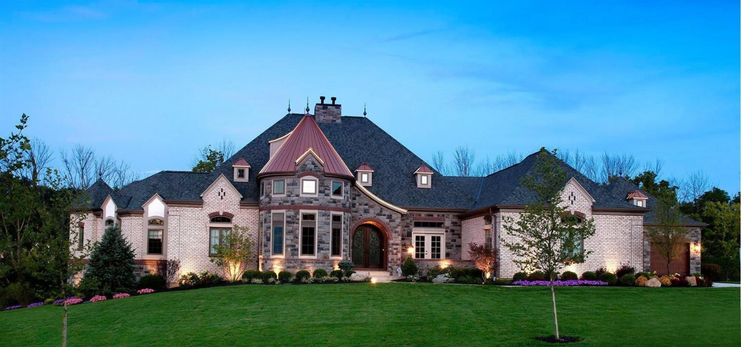 OPEN SAT&SUN 12-2!! Stunning 2013 Homerama Iconic Castle'' Estate Home |Over 6,500sf Living Space| Exquisite Detail | 5BR | 4 Full 2 Half BA| Luxury Kitchen | Award Winning Master Suite, Luxury Bath & Expansive Wardrobe Walk In | Soaring Ceilings|Breathtaking Study|Gorgeous LL Triple Screen Theater w/Bar &  Pool Table Parlor|3 FP|High End Details*
