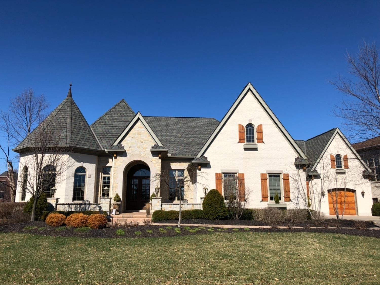 Exclusive Custom Ranch. Approx. 6500SF. 6 Homearama Awards. Sophisticated, Elegant Finishes. Outdoor Living at its Finest. Prestigious Water Views. Gorgeous Kitchen opens to Lg. Hearth Rm w/ Coffered Ceilings & Wet Bar. Stunning Study & Mstr Bd. LL Features Exercise Rm, Billiards, Media Rm, Wet Bar & Guest Suite. Private Salt Water Pool.