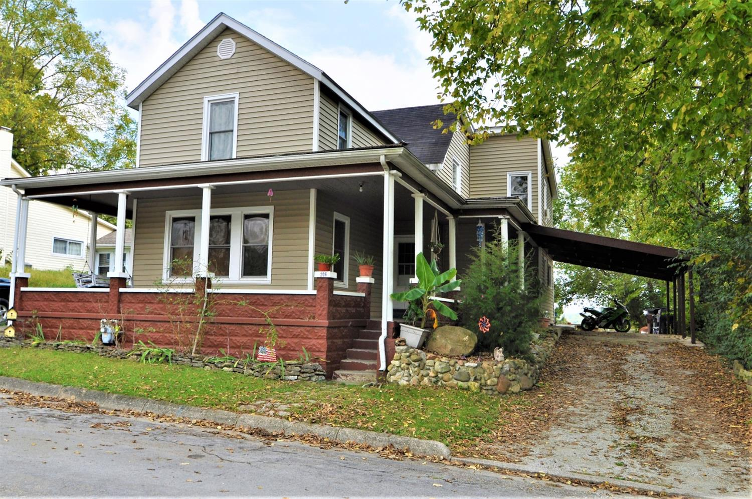 Property for sale at 206 N Fourth Street, Waynesville,  OH 45068