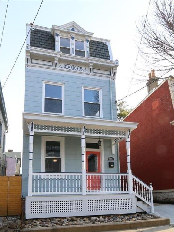 Masterful restoration of this 1895 Victorian, all permitted & 100% new HVAC, plumbing & electrical. New roof, windows, kitchen & baths. Custom details & professionally designed adding extra 480' sf 4th bdrm in generous 3rd flr. Private patio. Original ornate tin wall panels line stairs. 2nd flr laundry. Haint Blue porch with beautiful millwork.
