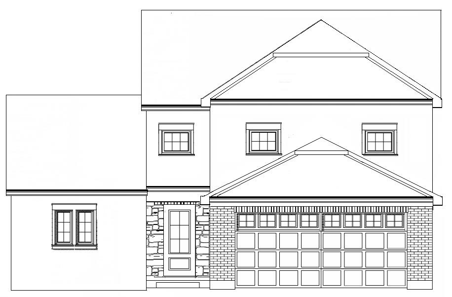 New Construction by St. John Designs, LTD. The Collinwood features 3 BR, 2.5 Baths, Great Room, Kitchen, 2 car garage. Other amenities:C/A, Hi-Eff furnace, Insulated windows, Gas FP. 1st floor laundry. Ten year tax abatement.
