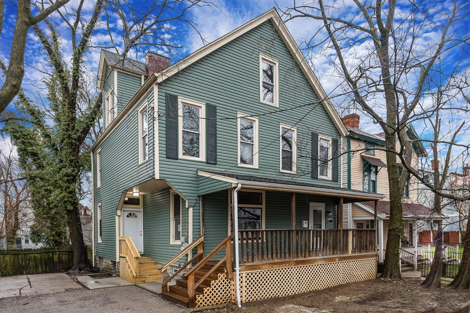 Now is your chance to take part of the excitement in Evanston/E. Walnut Hills! Stunning renovation only one block from bustling Woodburn Ave.! Enjoy monthly Walk on Woodburn events, microbrewery, cheese shop, cafes, retail, and dining... all down the street. Inviting space full of character and perfect for year-round entertainment!