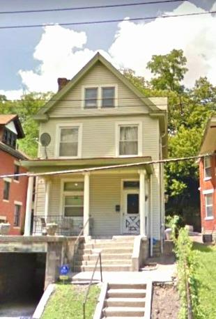 3+ bdrm has new plumbing , new windows, and central air. Already fixed up and ready to move in or rent.  It has an offstreet parking spot and small garage. Walk to OTR , Mt Adams , or Clifton. 3 floors. Exterior siding, small fenced back yard