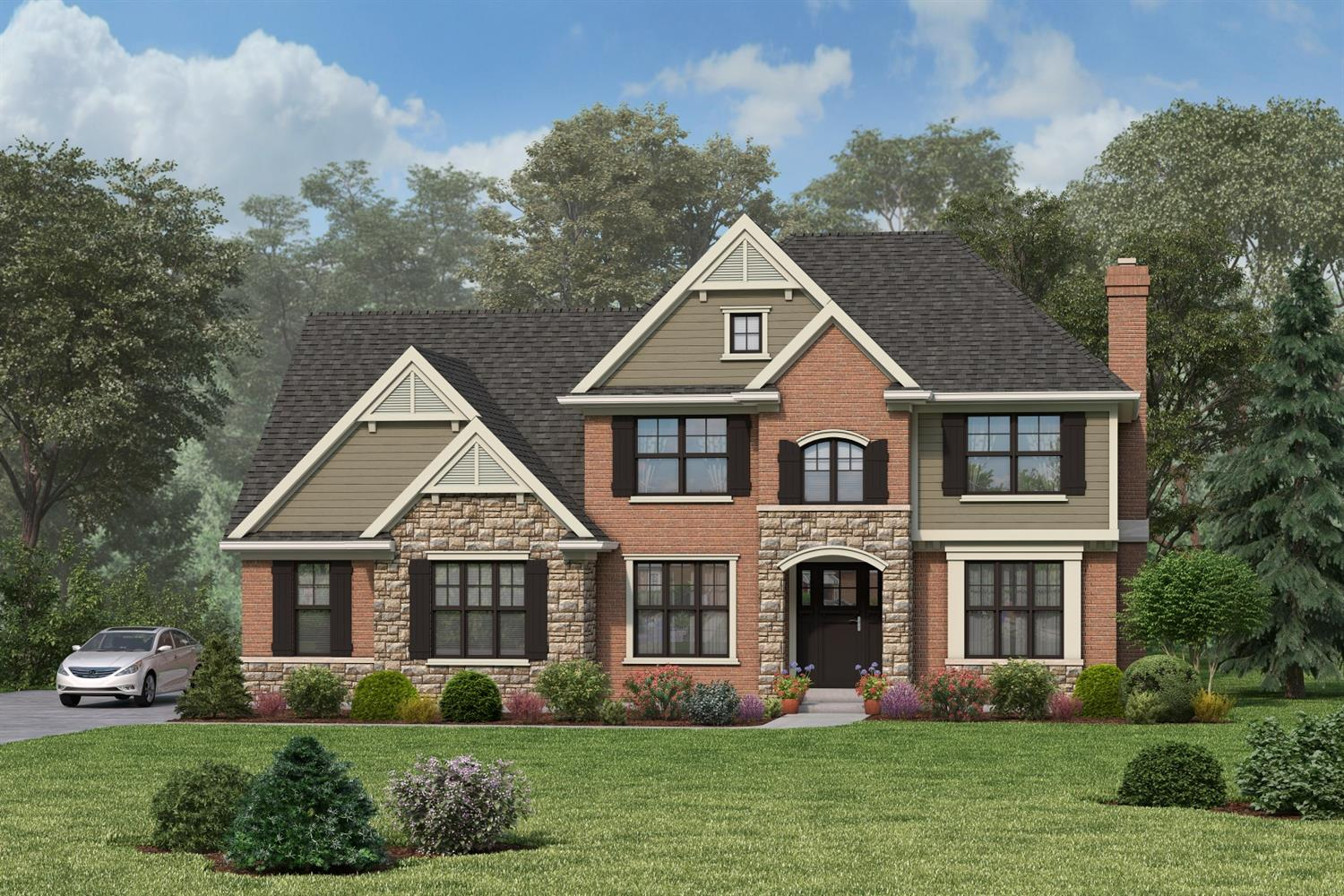 Last lot available in the prestigious neighborhood of Grand Oaks! Award winning Christopher Robin Homes presents another stunning custom home: build this beauty or choose your own design. Prime Anderson Twp location. Walk to shopping, dining, theater & more! Don't miss this one!