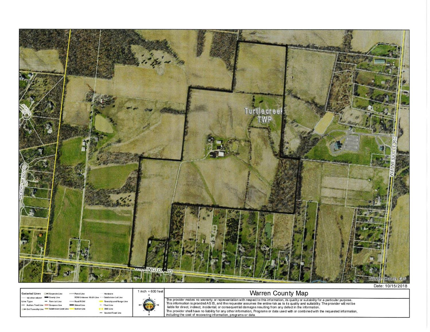 Property for sale at 3344 Wilmington Road, Turtle Creek Twp,  OH 45036