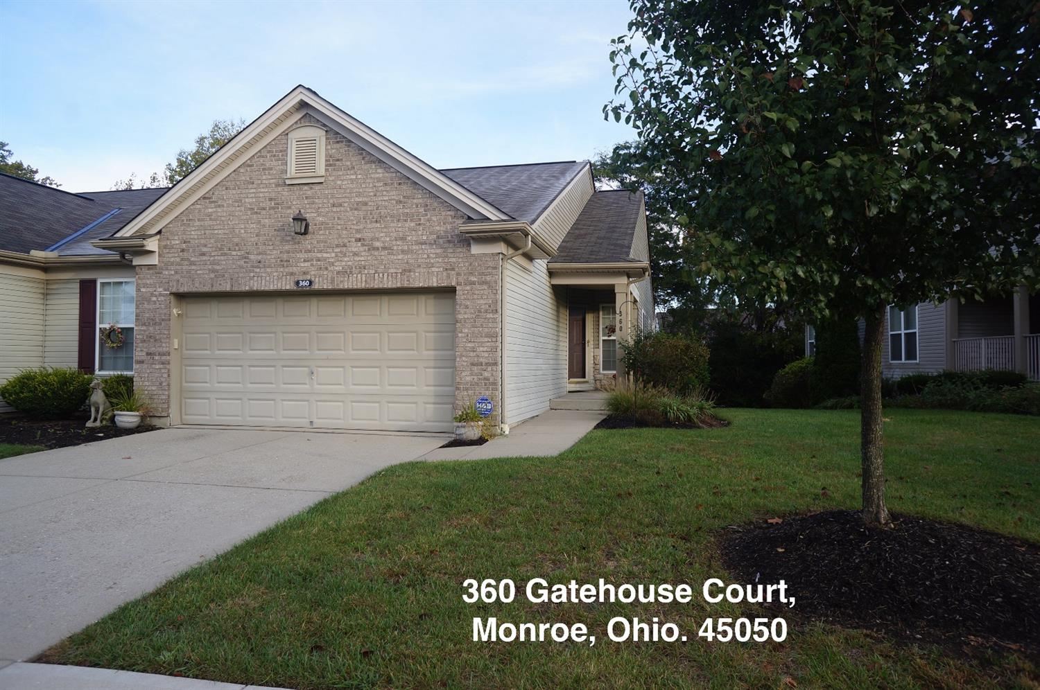 Property for sale at 360 Gatehouse Court, Monroe,  OH 45050
