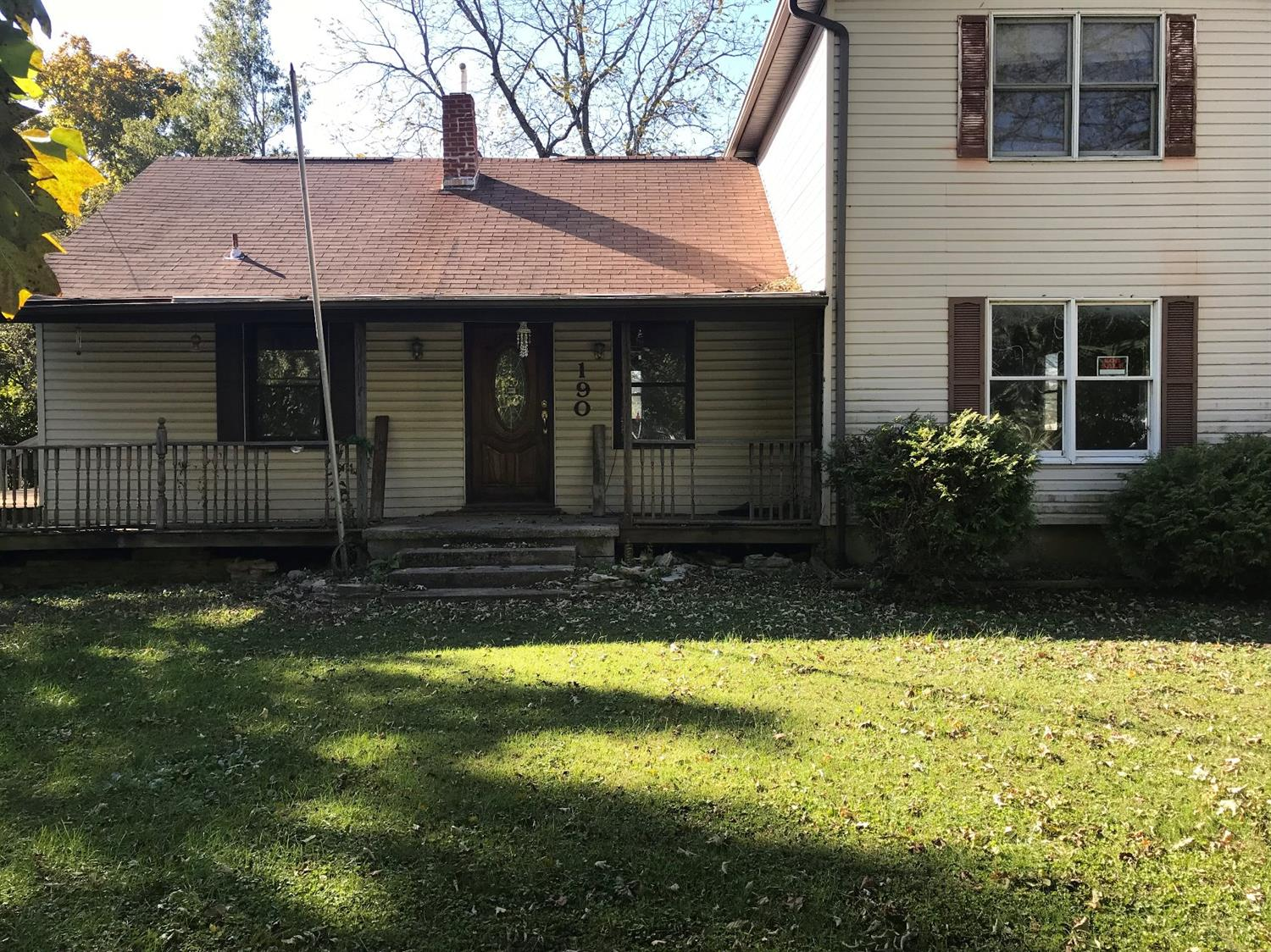 Property for sale at 190 Ogden Road, Adams Twp,  Ohio 45177