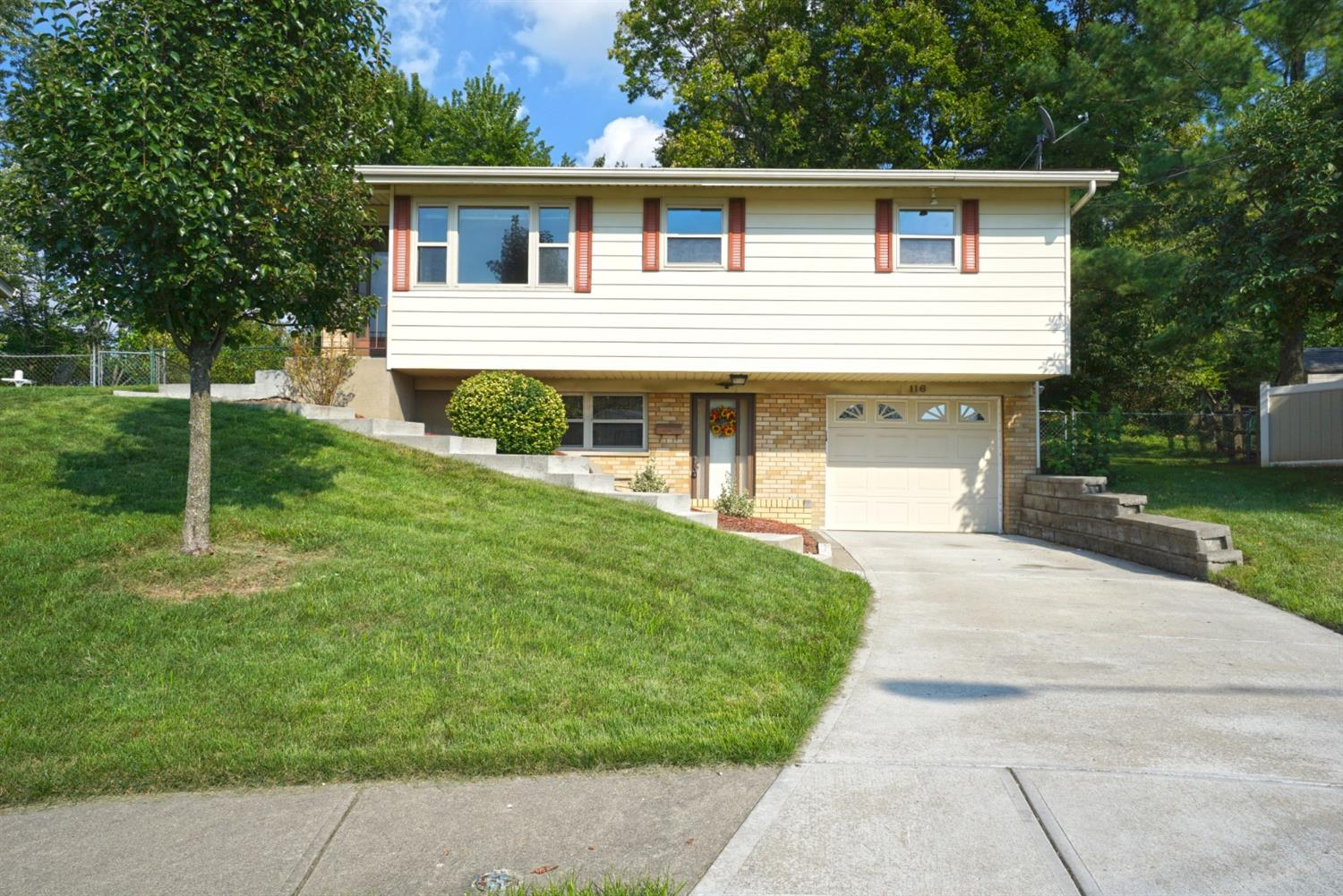 Property for sale at 116 Biscoe Drive, Reading,  OH 45215