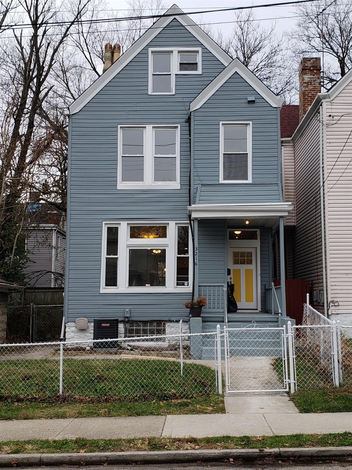Property for sale at 3216 Hackberry Street, Cincinnati,  Ohio 45207