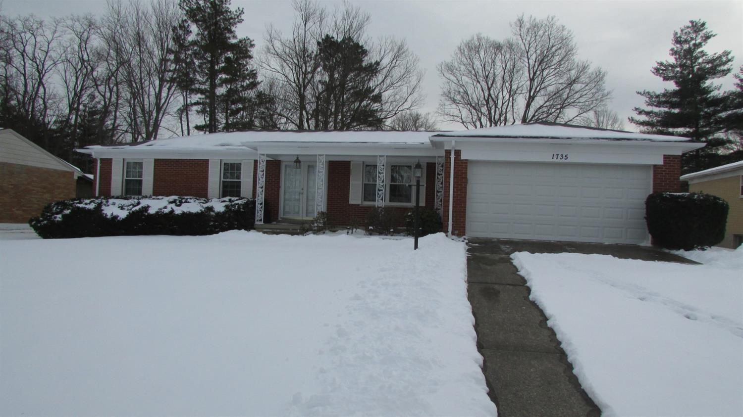 Property for sale at 1735 Millspring Court, Springfield Twp.,  OH 45231