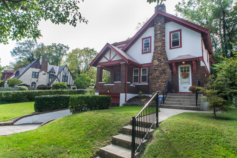 Property for sale at 667 E Mitchell Avenue, Cincinnati,  Ohio 45229