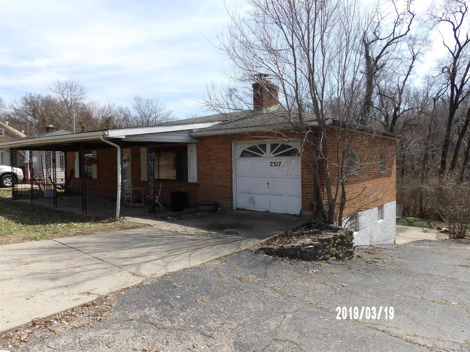 Property for sale at 2317 E Galbraith Road, Reading,  Ohio 45237