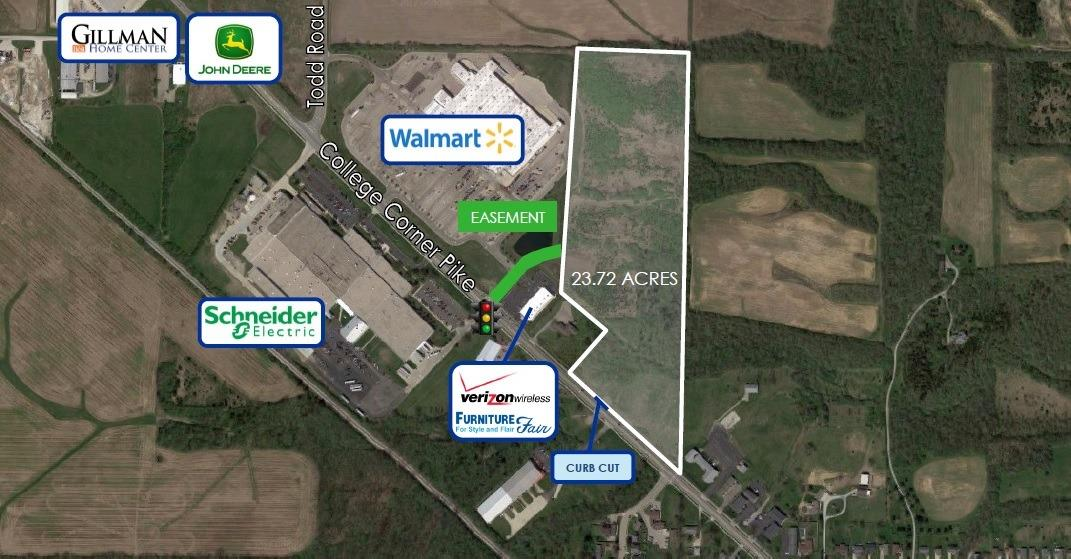 Property for sale at 0 College Corner Pike, Oxford,  Ohio 45056