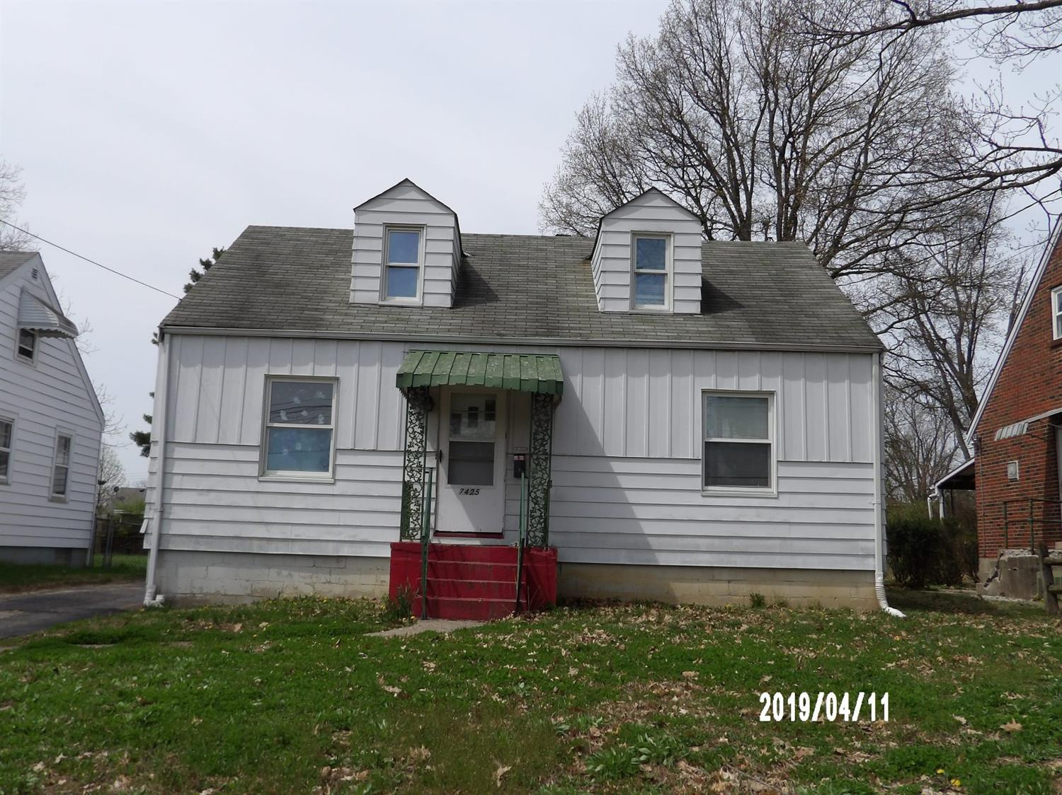 Property for sale at 7425 Clovernook Avenue, Mt Healthy,  Ohio 45231