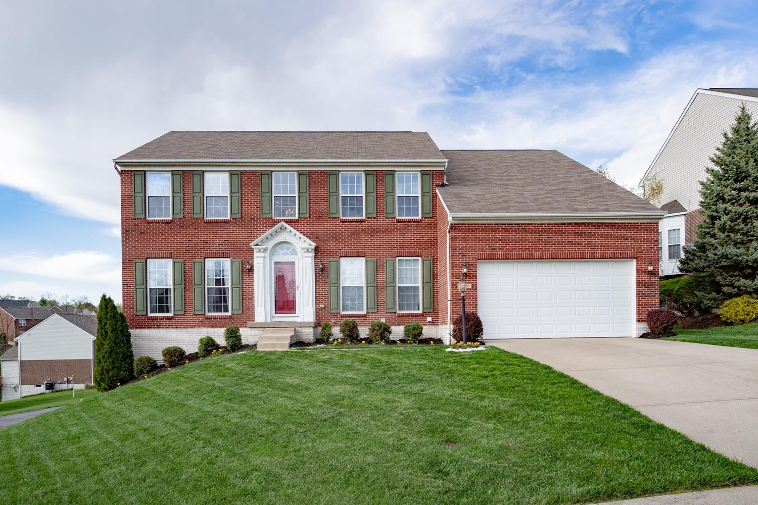 Photo of home for sale at 4866 Blue Meadow Lane, Colerain Twp OH