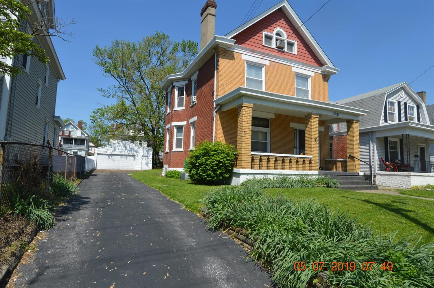 Property for sale at 3931 S Jefferson Avenue, Norwood,  Ohio 45212