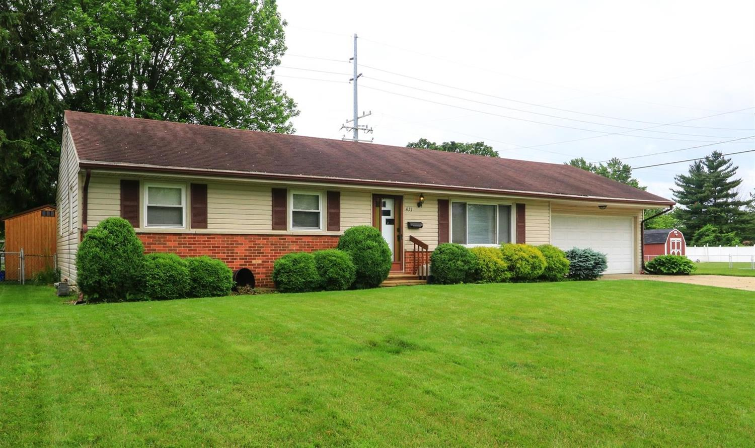 Property for sale at 411 Ardmore Drive, Trenton,  Ohio 45067