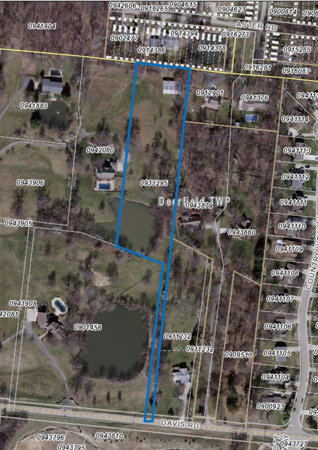 Property for sale at 0 Davis Road, Deerfield Twp.,  Ohio 45140
