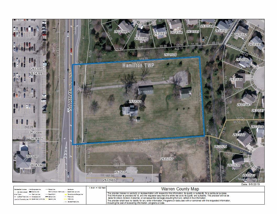 Property for sale at 5756 S St Rt 48, Hamilton Twp,  Ohio 45039