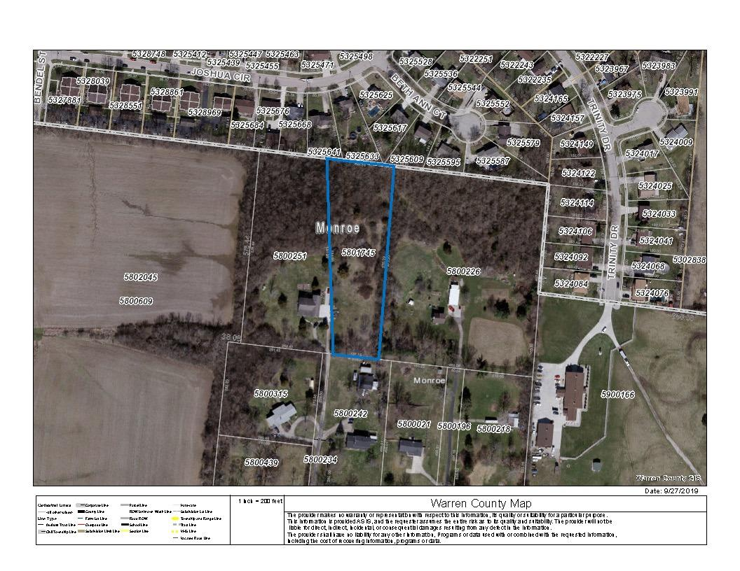 Property for sale at 2 Greentree Road, Monroe,  Ohio 45044