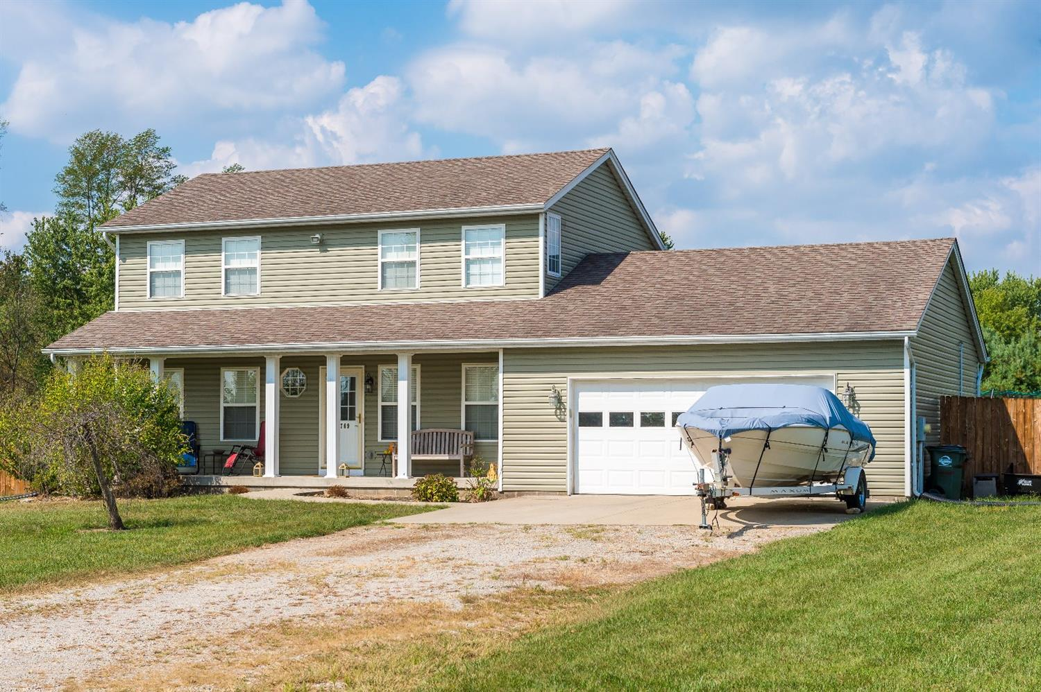Property for sale at 3769 Middleboro Road, Salem Twp,  Ohio 45152