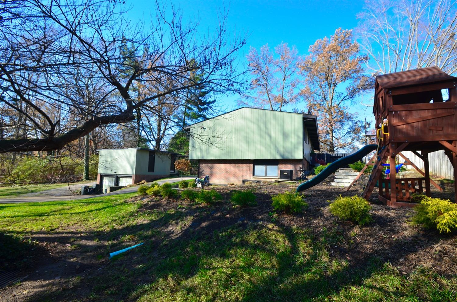 This half acre parcel has plenty of room for play and pets!