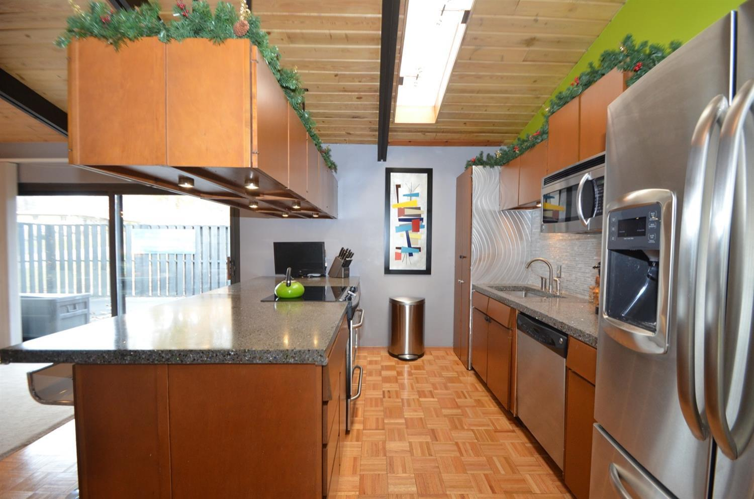 Refreshed and updated 'orignal' kitchen is the best of the best!  Skylight adds natural light even on the dreariest of days.