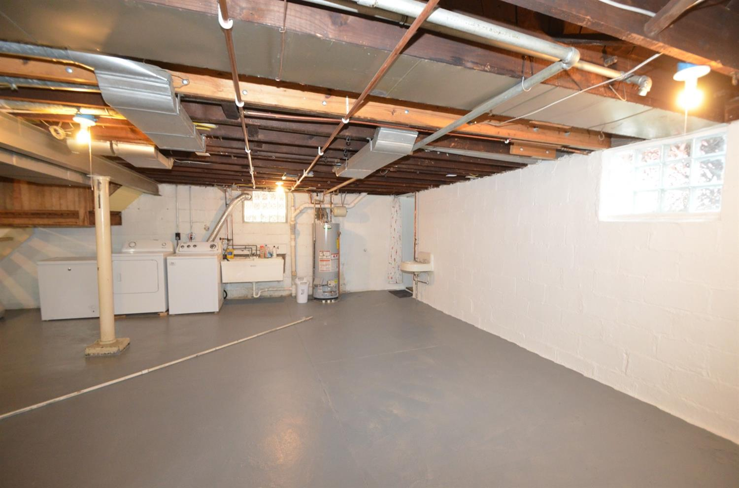 Spacious, bright and clean basement!