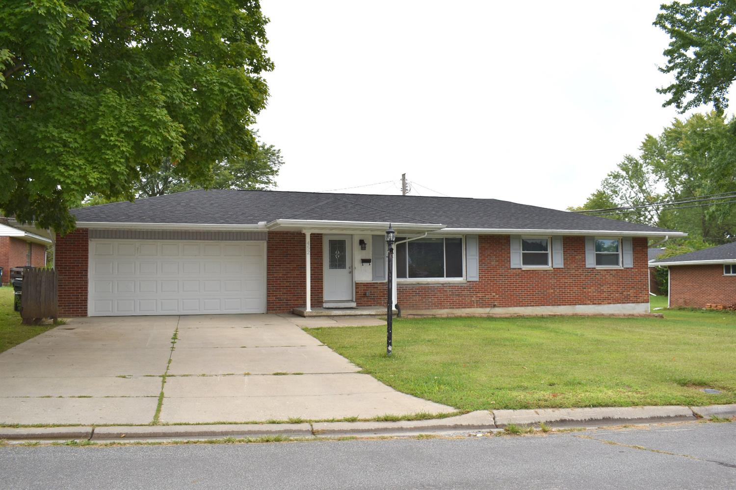 Extensively Remodeled in 2015, this older brick ranch home features a rare open floor plan with a large main living area with no walls between the living room, kitchen and family room. The updated kitchen includes granite counters, backsplash, an island, updated cabinets. Master has a full bath attached. A large 20X15 patio completes the home.